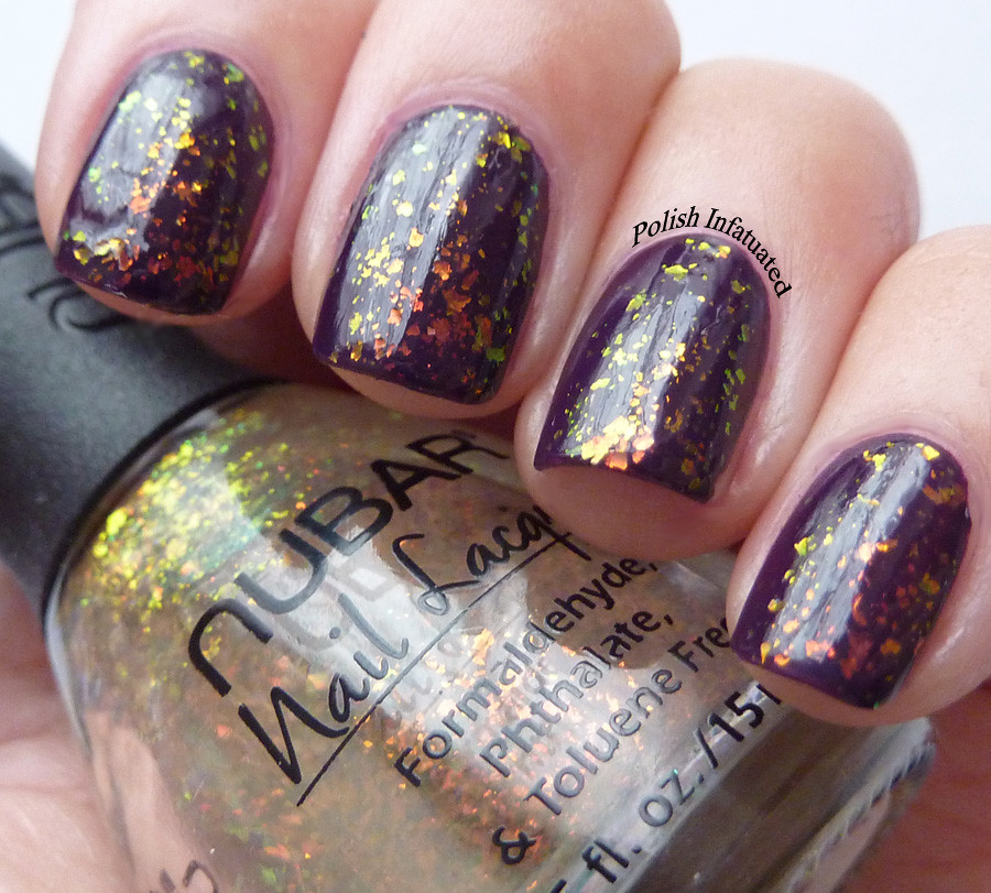 dark plum and flakies2