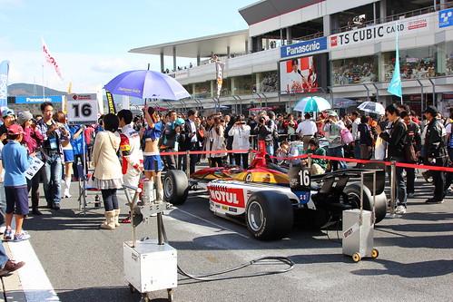 2011年の富士スプリントカップの様子