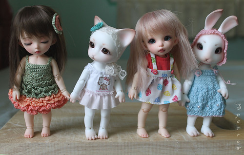 tiny comparison/ Pukifee and Pipos Jr. PI