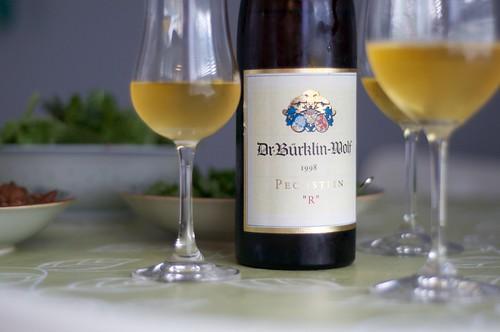1998 Dr. Burklin-Wolf Pechstein R Riesling Auslese