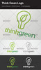 Think Green Logo by garam dapur