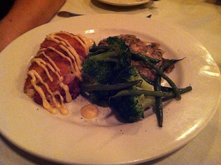 Chicken Cordon Bleu at Michael John's Restaurant, Bradenton FL