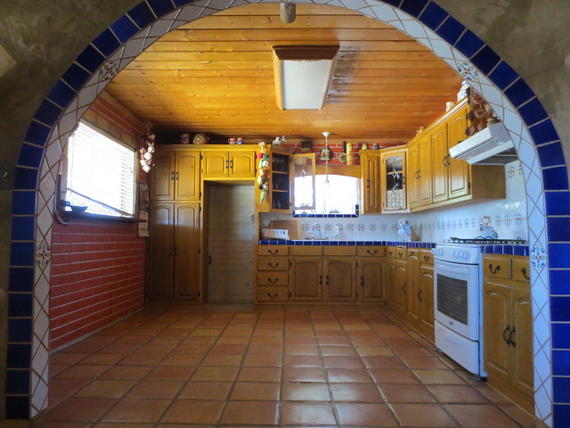 Kitchen new cupboards beautiful mexican tile work flickr photo sharing