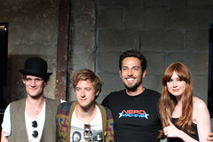 Cast of Doctor Who & Emcee Zachary Levi