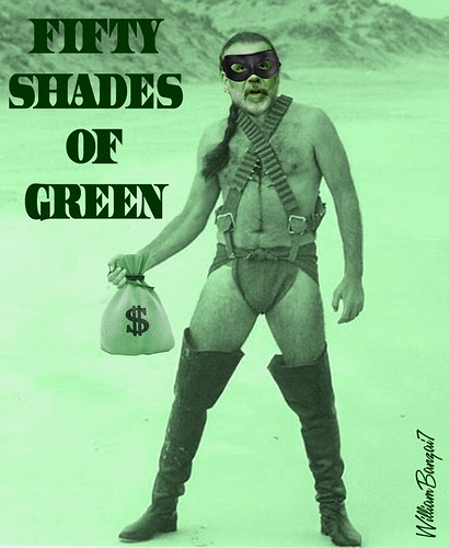 FIFTY SHADES OF GREEN by Colonel Flick