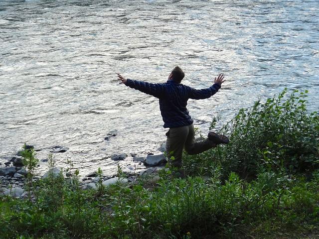 Dan riverdance Denali
