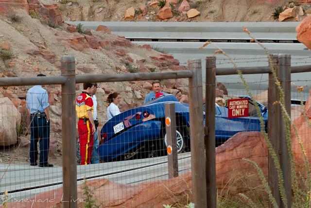 Radiator Springs Racers Evacuation