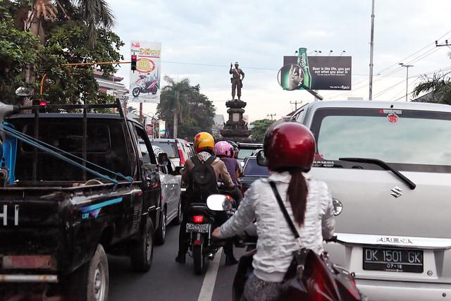Admonishing Traffic