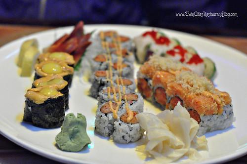 Sushi at Osaka Sushi & Hibachi ~ Roseville, MN