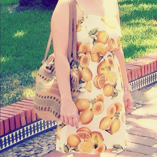 Lemon dress primark