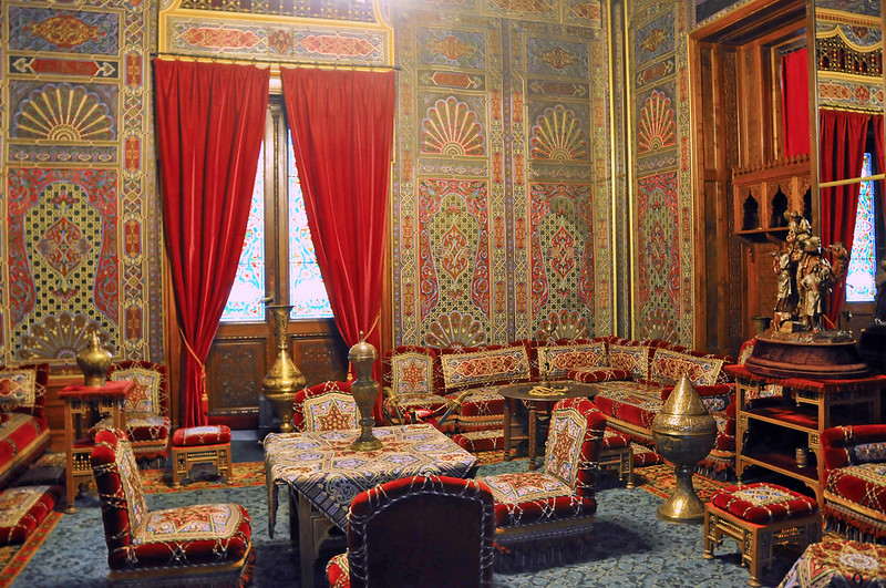Romania-1625 - Moorish Room