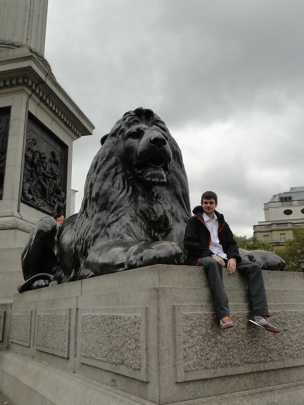 Michael at Trafalgar