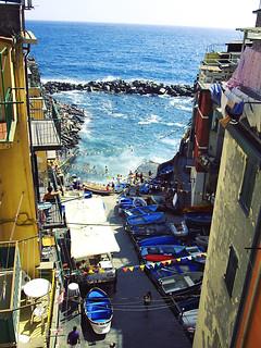 Diversión en Riomaggiore