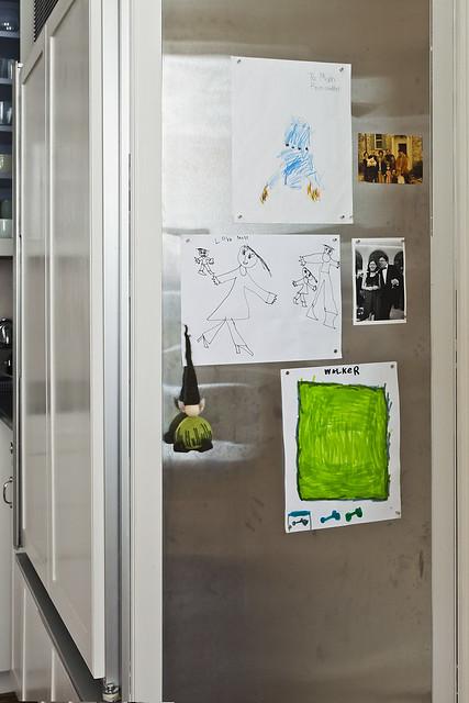New fridge door