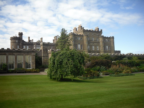 Culzean Castle from garden