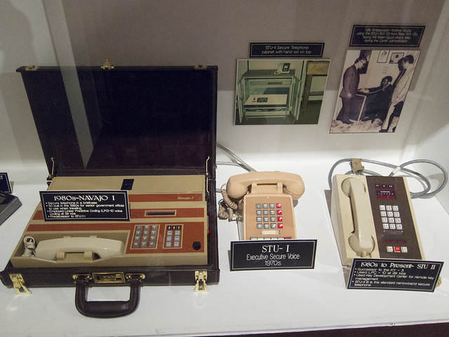 Navajo I Telephone in a Briefcase