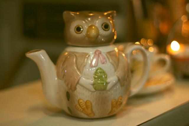 Owl Teapot - Junk Bar