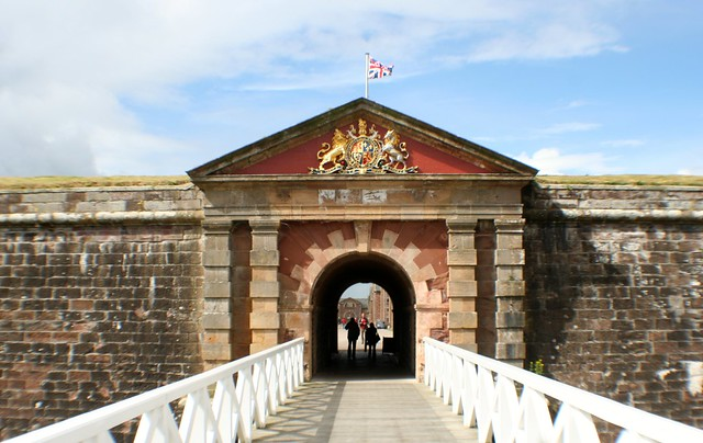 Entrance to Fort George, Inverness