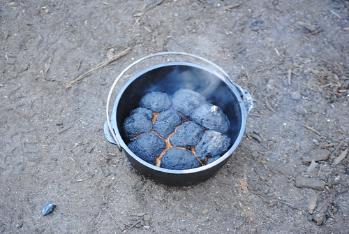 Camp fire bread!