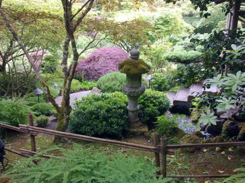 Japanese garden en jardines Butchart Canada 26