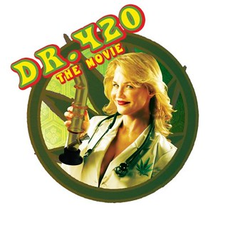 "Art work from Chuck Parello's ""Dr.  420"""