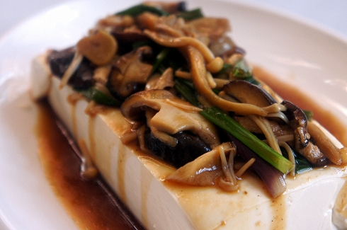 Tofu with Mushrooms 2