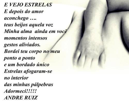 E VEJO ESTRELAS by amigos do poeta