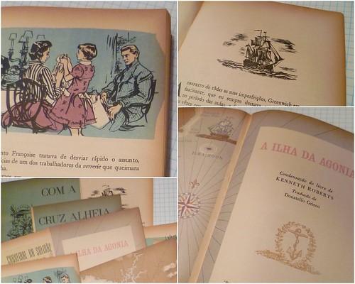 Páginas ilustradas do livro