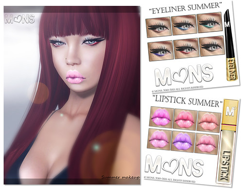 MONS / NEW! Summer Makeups by Ekilem Melodie - MONS