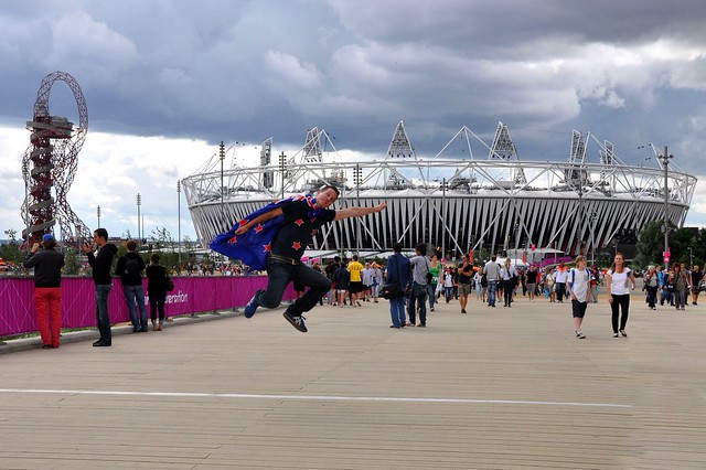 Rob and the Olympic Stadium