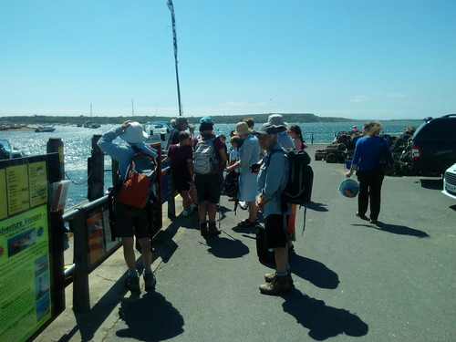 Mudeford Quay - waiting for the Ferry