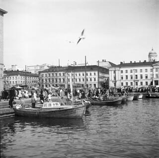 Helsinki Marketplace 1948