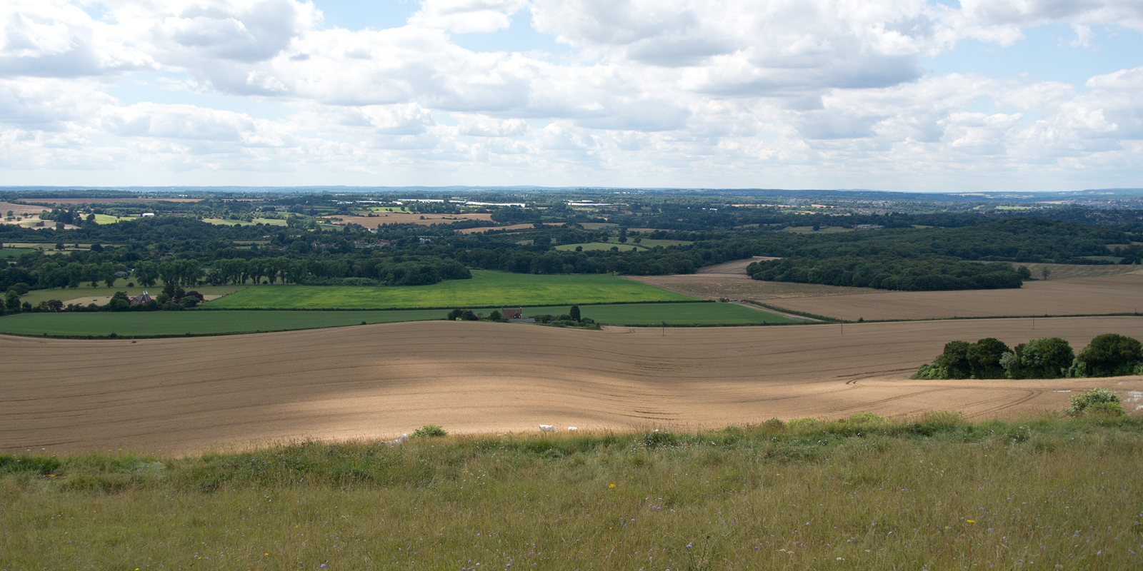 North Downs Way Hollingbourne Circular via Hucking