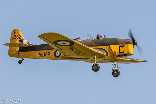 Miles Magister - Old Warden Edwardian Pageant 2016