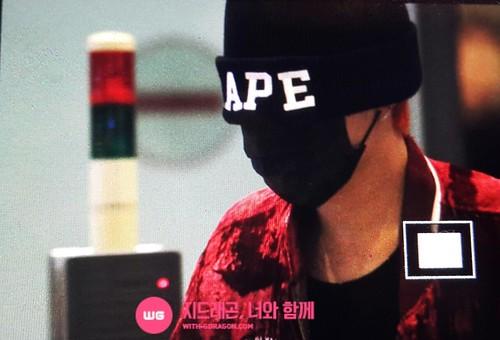 Big Bang - Incheon Airport - 26jul2015 - With G-Dragon - 01