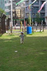 タコ公園のとらちゃん(2012/4/29)