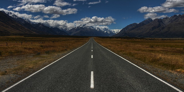 The Road to Mount Cook