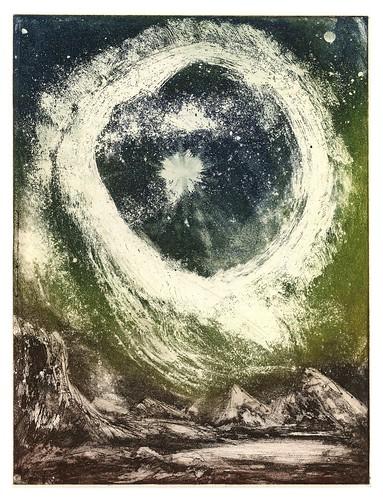 012- Explosion de una estrella- Serie Cosmos-1984- René Bord- Bibliothèque Municipale de Lyon