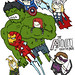 THE AVENGERS by ROCCO THE GREAT