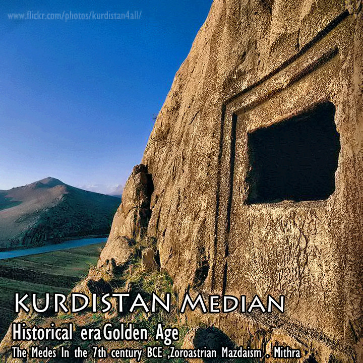 the Histories of Medes Kurdistan Ecbatana Zoroastrian Mazdaism Golden Age