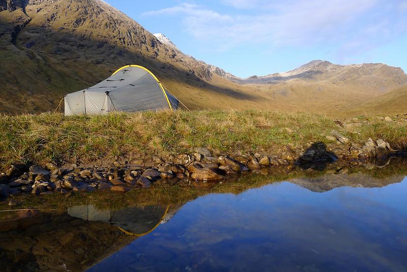 Camp near Loch Monar