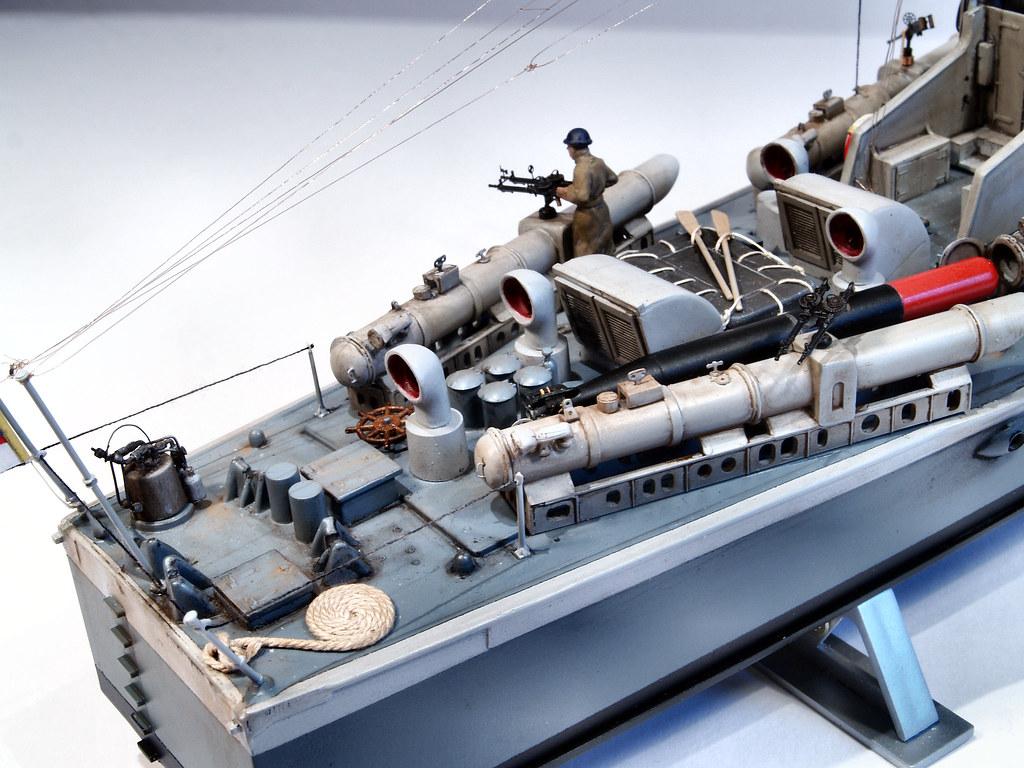 1 72 Airfix Vosper Type 1 73 Mtb Ready For Inspection