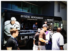 Getting out of LA before the big game chaos. Go Kings!!