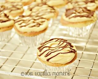 { Peanut Butter Cupcakes }