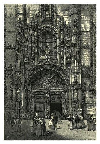 004-Puerta principal de Los Jeronimos o Santa maria de Belem-Fair Lusitania -1874