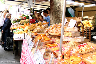 Paris farmer's market