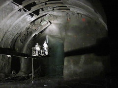 CM019 - Preparation for Shotcreting in Access Tunnel 2 (06-13-2012)
