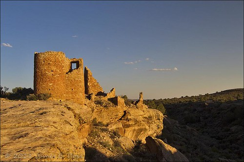 Sunset at Hovenweep