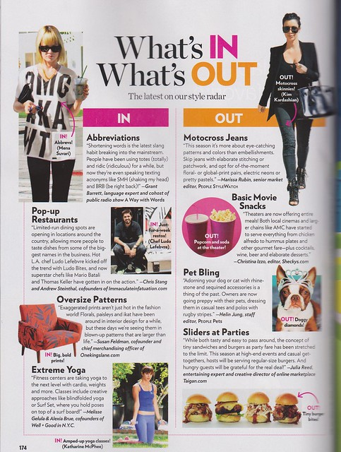 Clementine People Magazine Style Watch