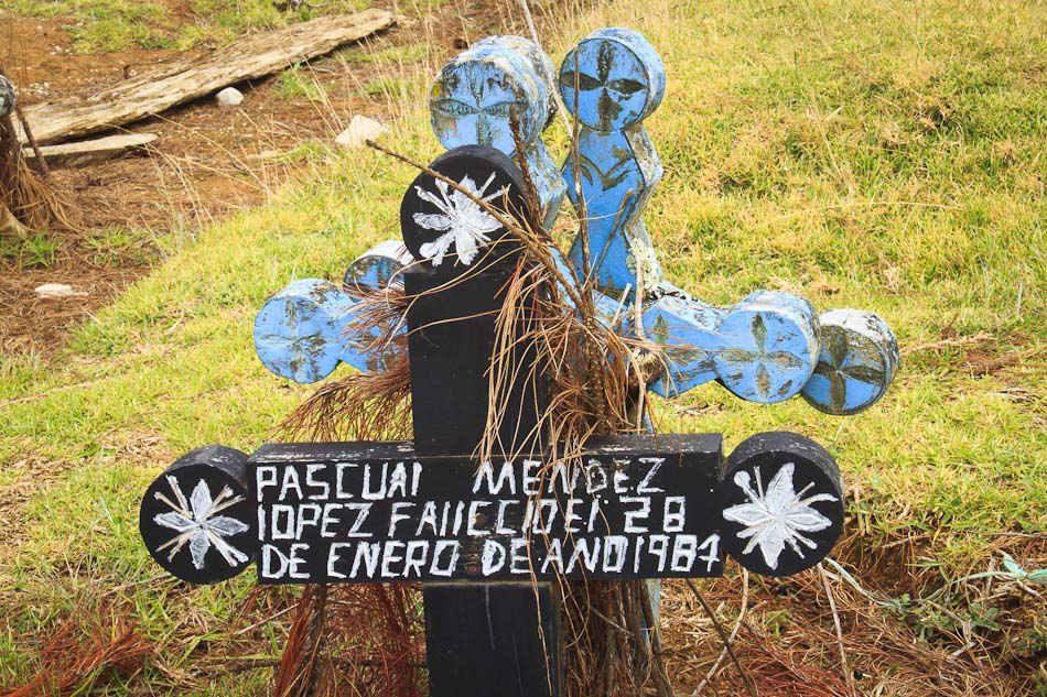 Travel Photos: A Traditional Mayan Graveyard in Chiapas, Mexico